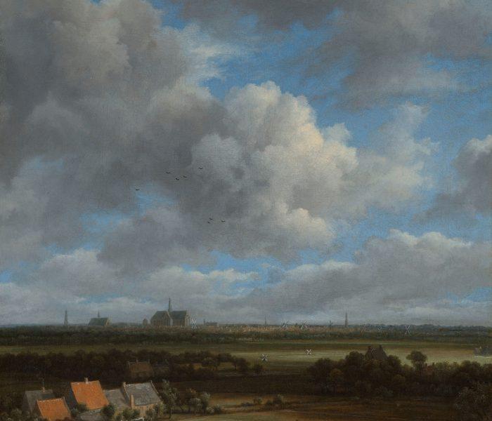 8. Gezicht op Haarlem uit het noordwesten